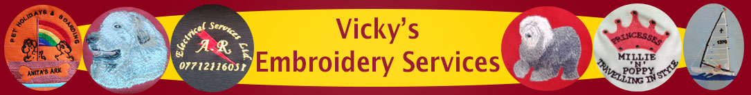 Vicky's Embroidery Services