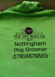 Personalised embroidery on clothing