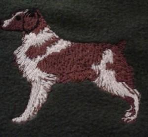embroidered springer